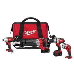 Milwaukee Cordless Combo Kits, Milwaukee Tools