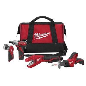 Milwaukee Cordless Combo Kits, Milwaukee Tools