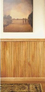 Oak Wainscoting