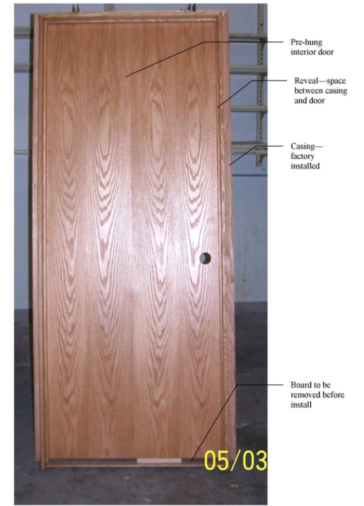 Install Prehung Interior Door