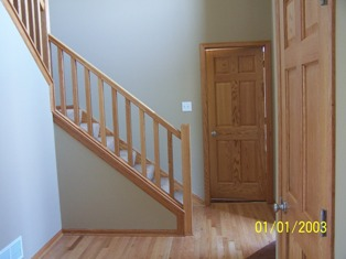 Basement Stair Rail And Baluster Question   Carpentry   DIY Chatroom Home  Improvement Forum
