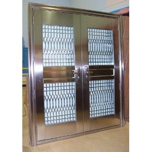 a metal exterior door are they for you